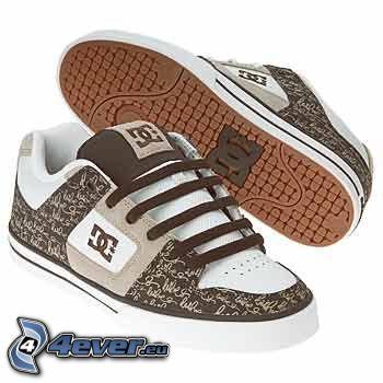 DC Shoes, zapatillas de deporte marrones