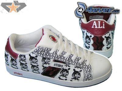 Etnies, ali, zapatos deportivos