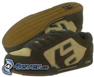 Etnies, zapatillas de deporte marrones