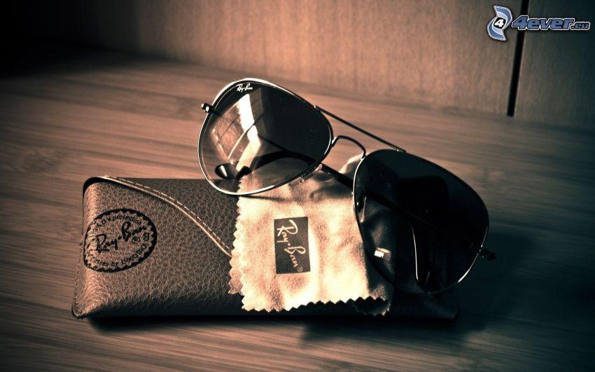 gafas, funda