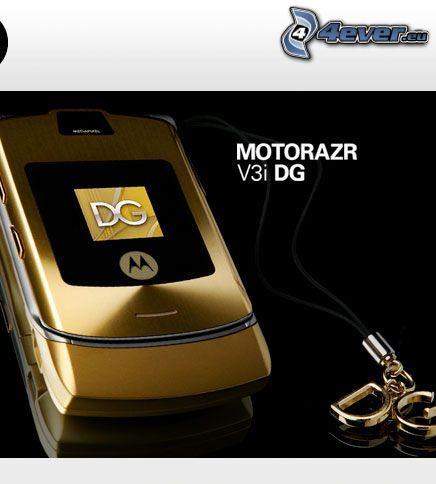 Motorola Motorazr V3i DG, teléfono móvil, teléfono