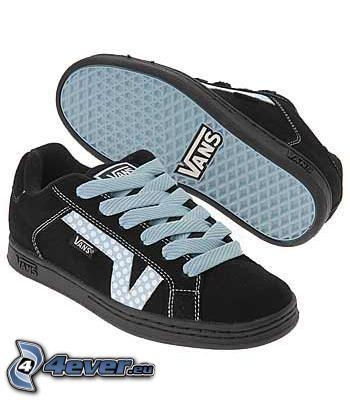 Vans, zapatillas de deporte negras