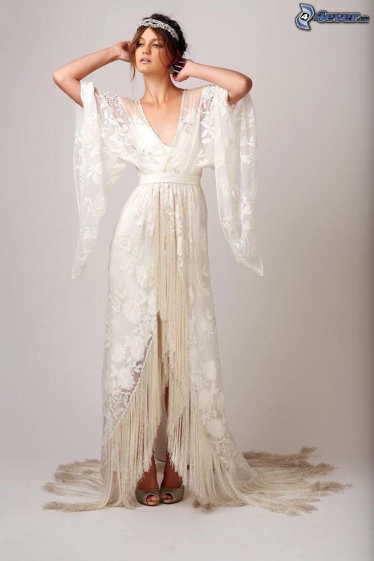vestido de novia, novia, diadema