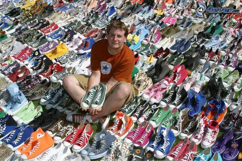 zapatillas de colores, Converse