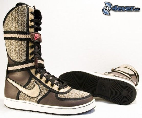 zapato, Nike, zapatos, bota