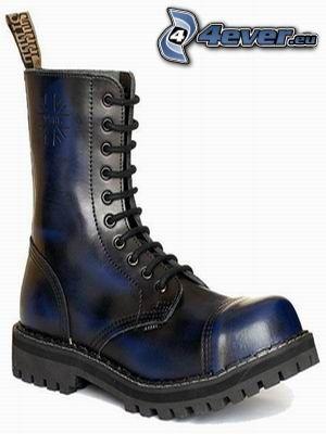 zapato, punta de acero
