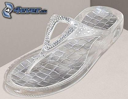 zapato, zapatos, joya