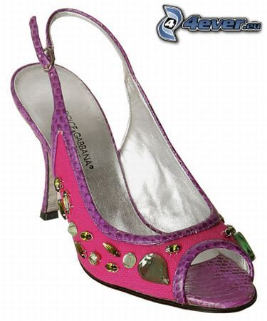 zapato, zapatos de gala, tacón