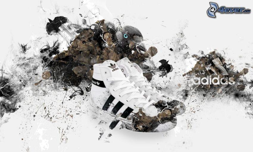 zapatos deportivos, Adidas