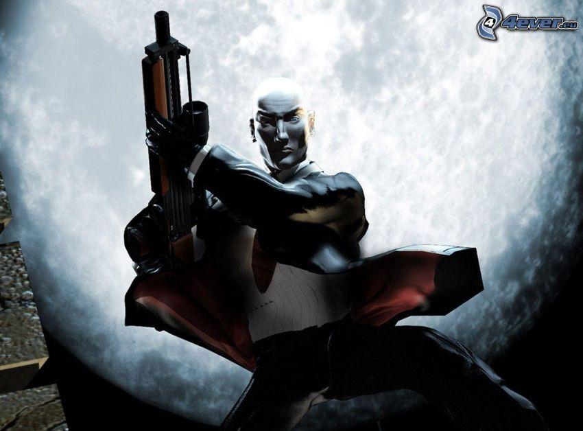 Hitman: Absolution, hombre con arma