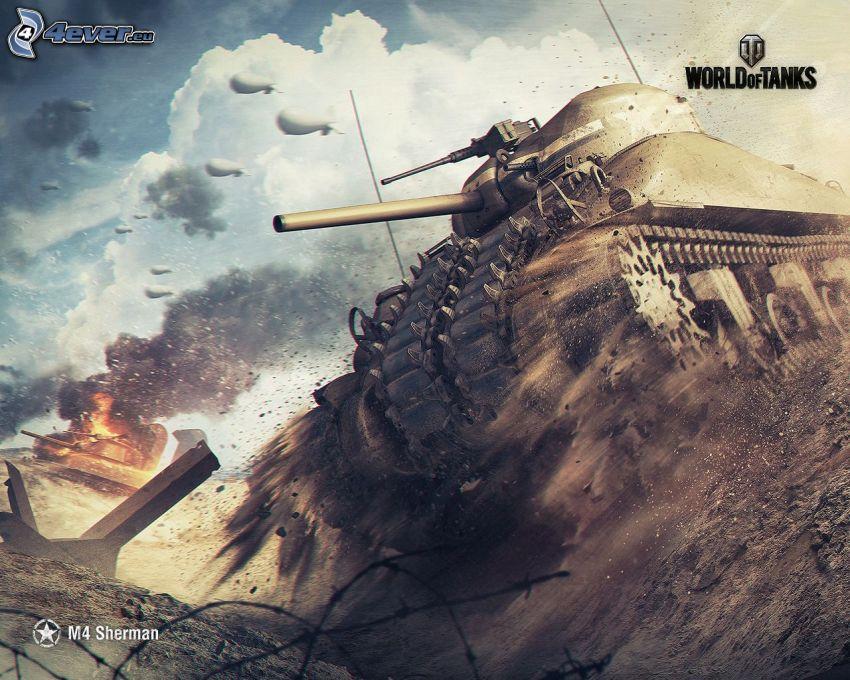 M4 Sherman, World of Tanks