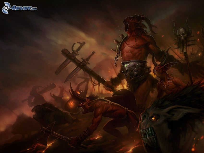 The Fallen Ones, Diablo 3, guerrero oscuro