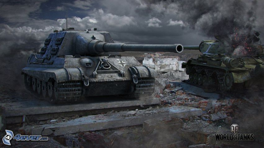 World of Tanks, Jagdtiger, Wehrmacht
