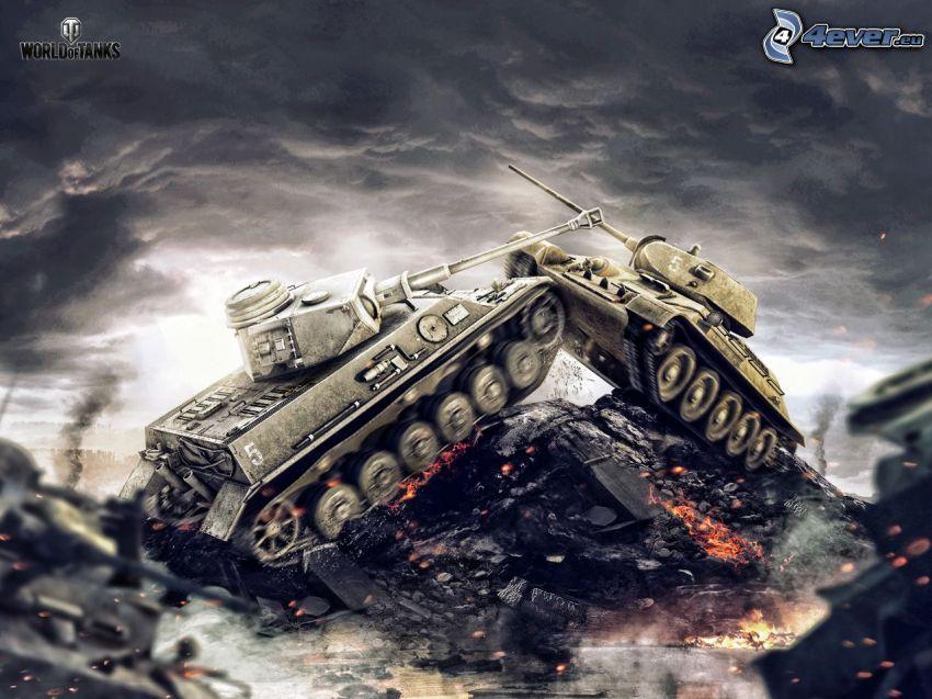 World of Tanks, lucha