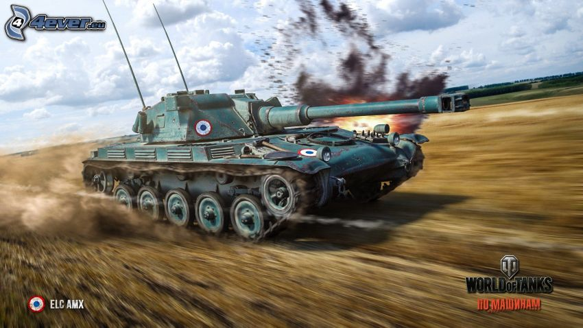 World of Tanks, tanque, acelerar