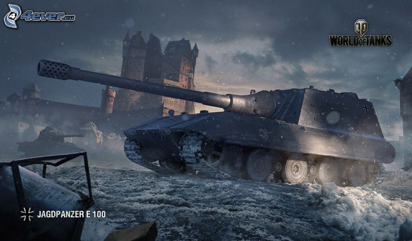 World of Tanks, tanque, castillo