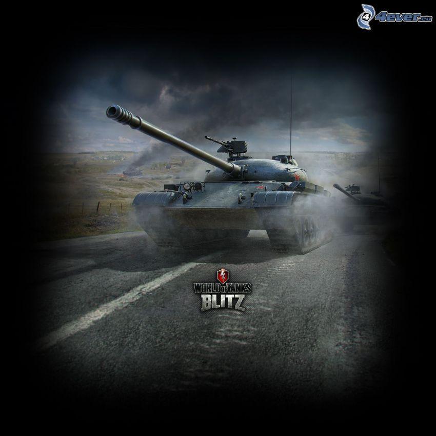 World of Tanks, tanques, camino