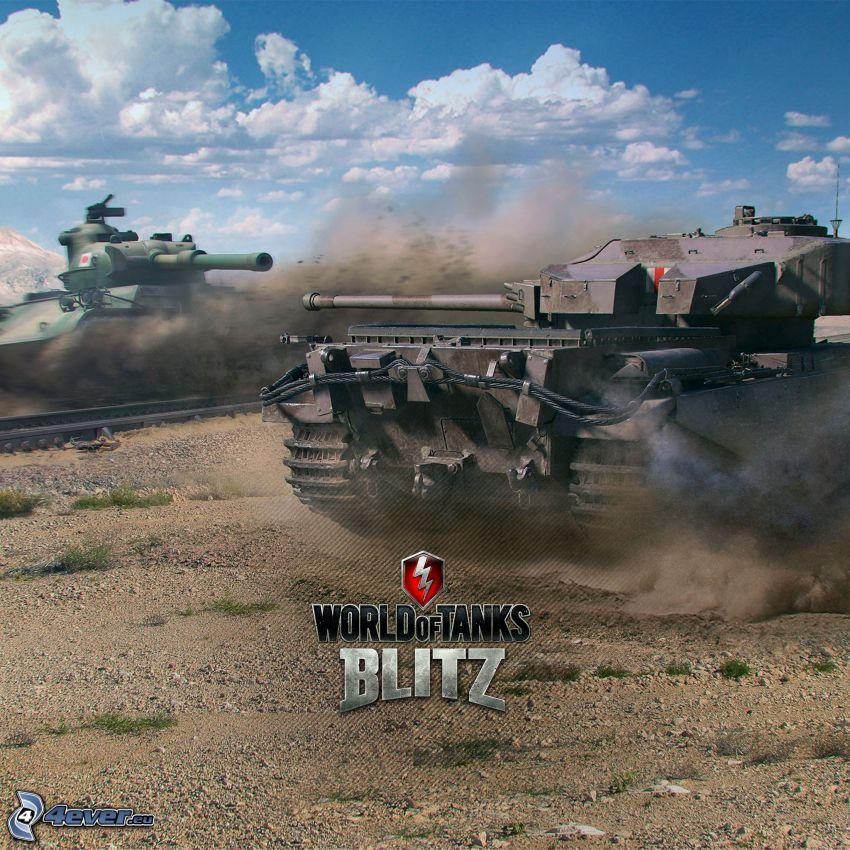World of Tanks, tanques, disparo