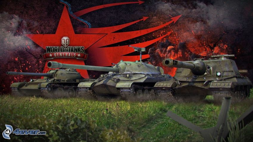 World of Tanks Generals, tanques