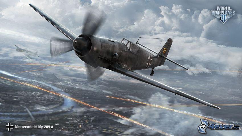 World of warplanes, disparo