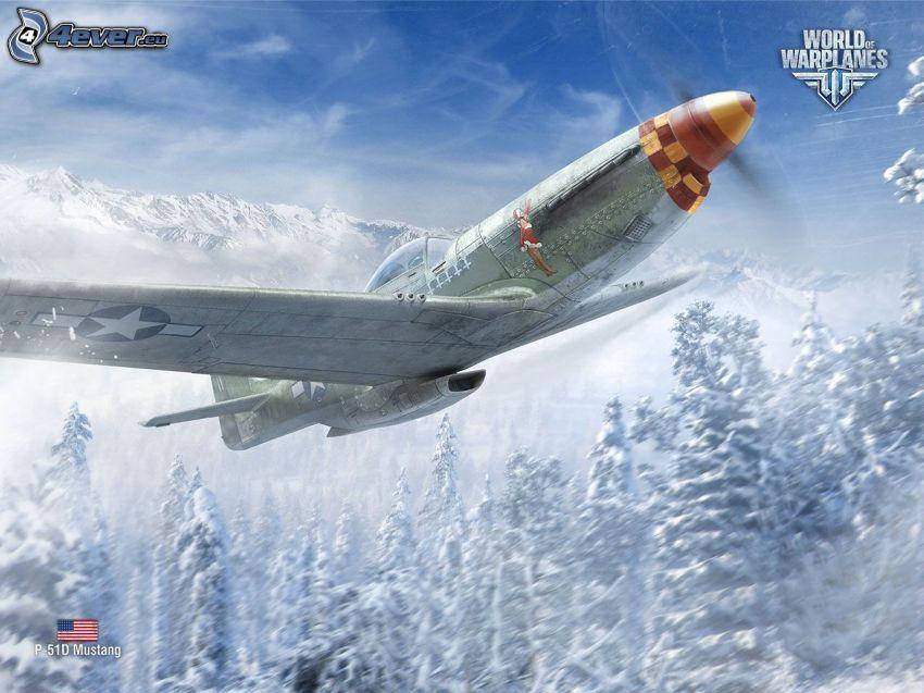World of warplanes, P-51 Mustang