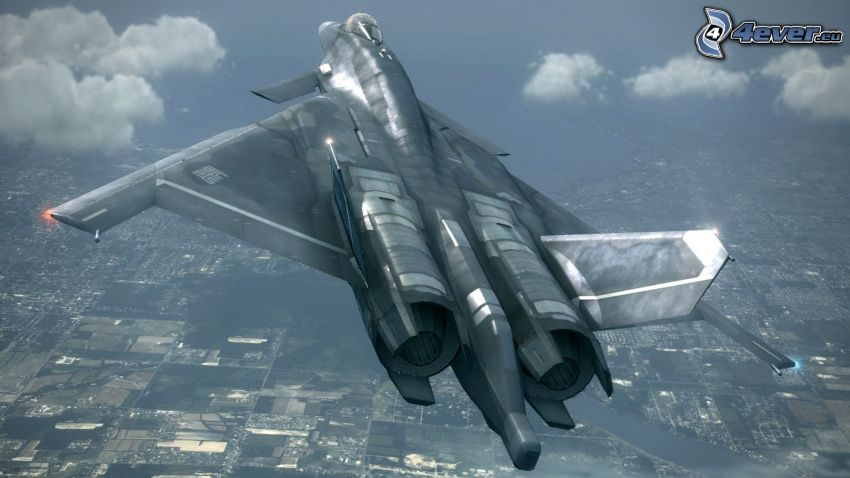 Ace Combat 6, avion de caza