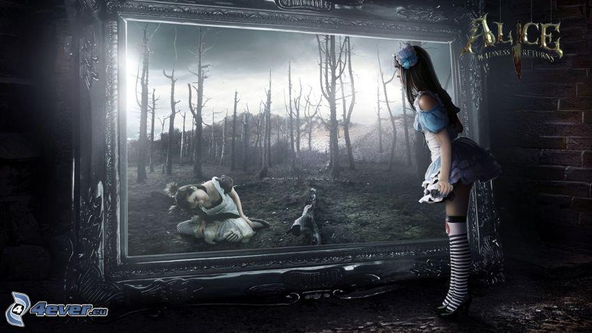 Alice: Madness Returns, dibujo