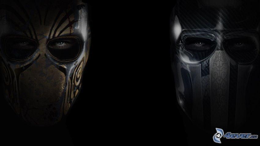 Army of Two: The Devil's Cartel, máscaras