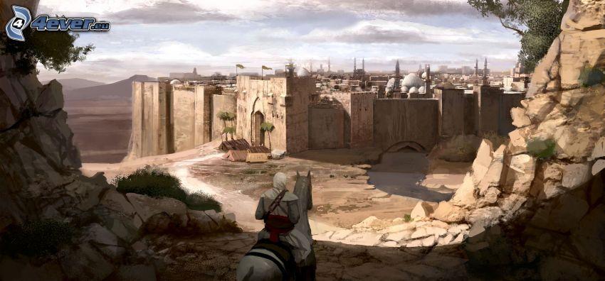 Assassin's Creed, fortificación, ciudad