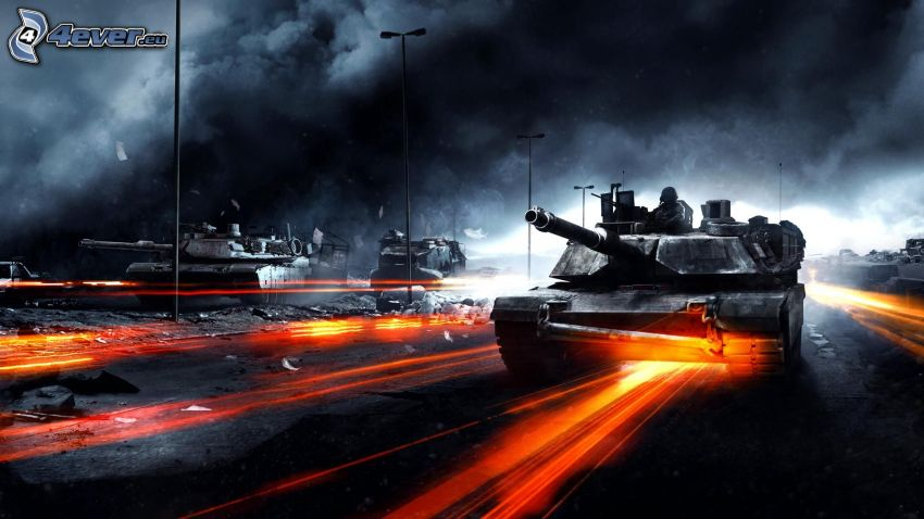 Battlefield 3, tanques, M1 Abrams