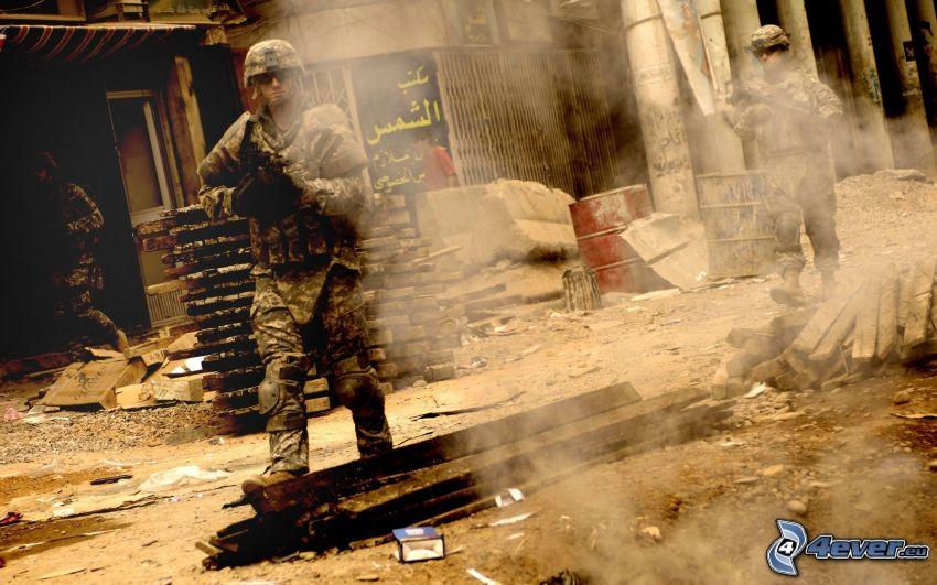 Counter Strike, soldados