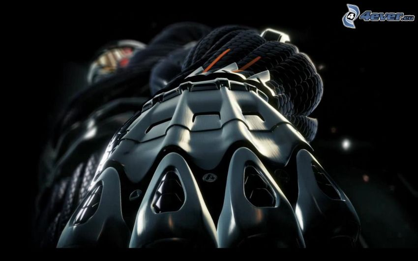 Crysis 2, brazo mecánico