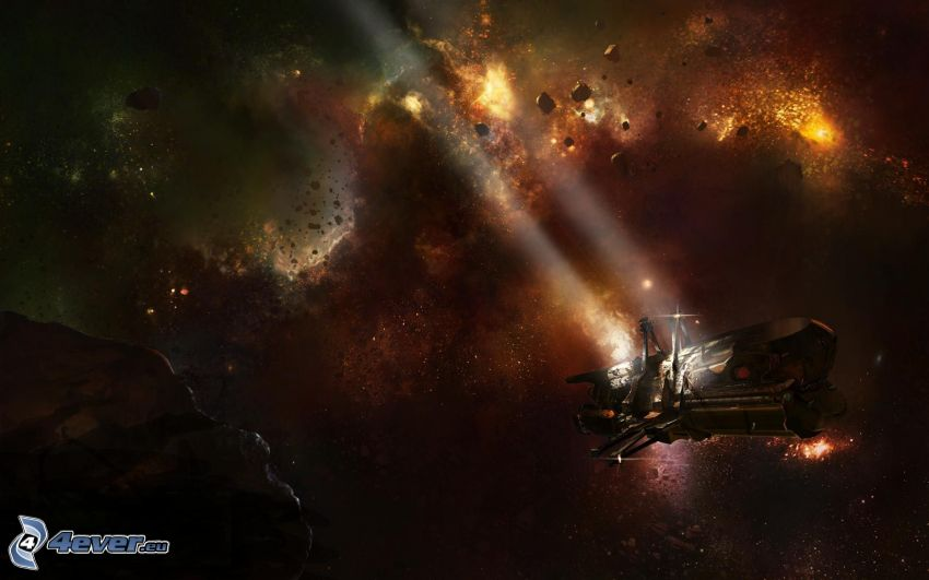 Dead Space, astronave