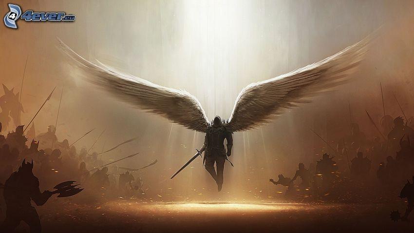 Devil May Cry, guerrero, ángel