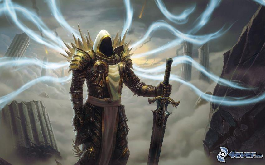 Diablo 3, caballero oscuro