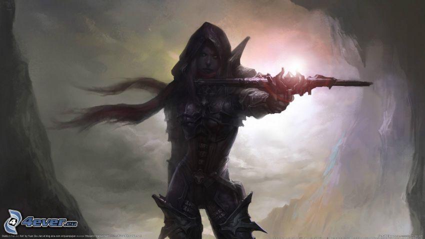 Diablo 3, guerrera