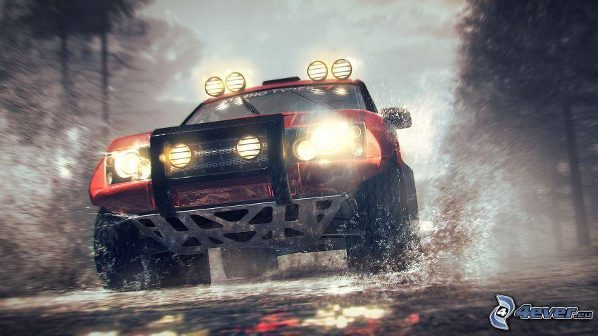 Dirt 3, Jeep, coche todoterreno