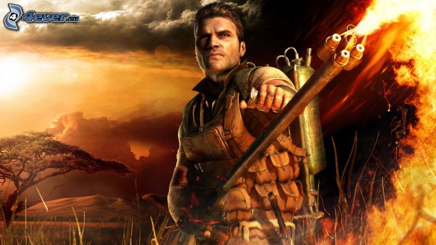 Far Cry 2, lanzallamas