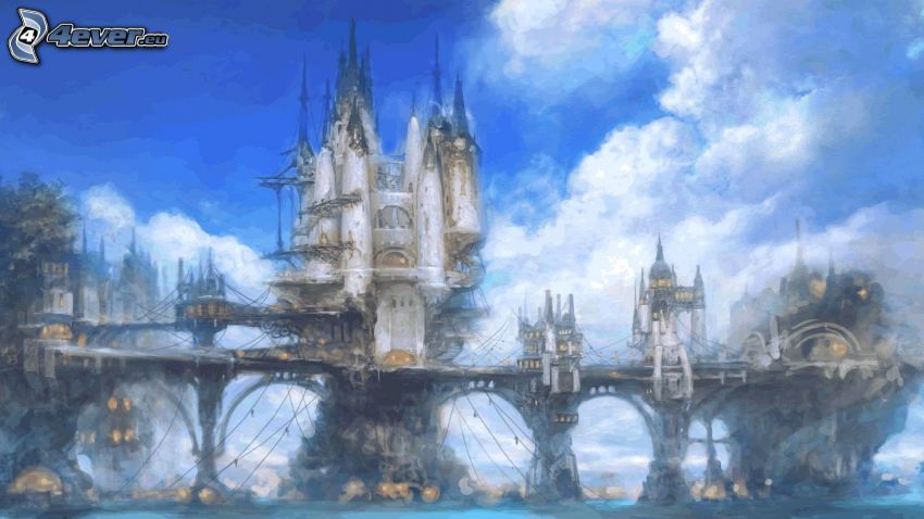 Final Fantasy XIV, castillo fantástico