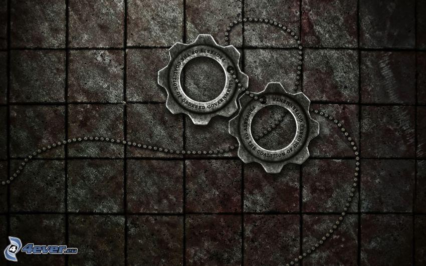 Gears of War, engranajes