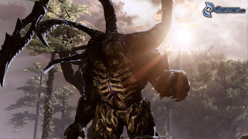 Gears of War 3, monstruo