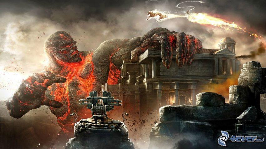 God of War 2, monstruo