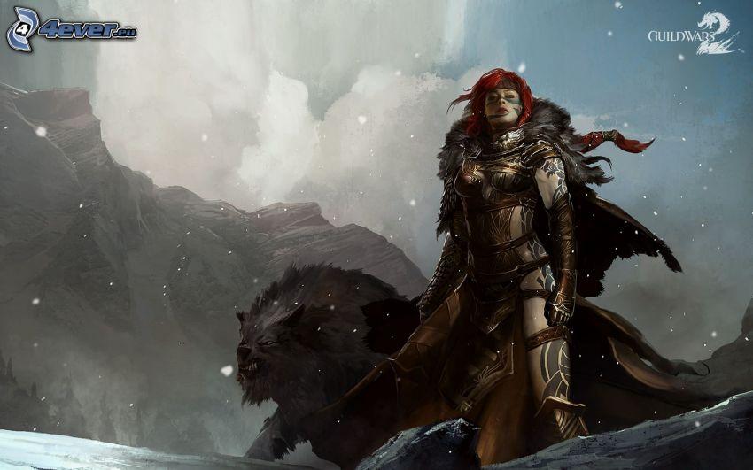 Guild Wars 2, guerrera