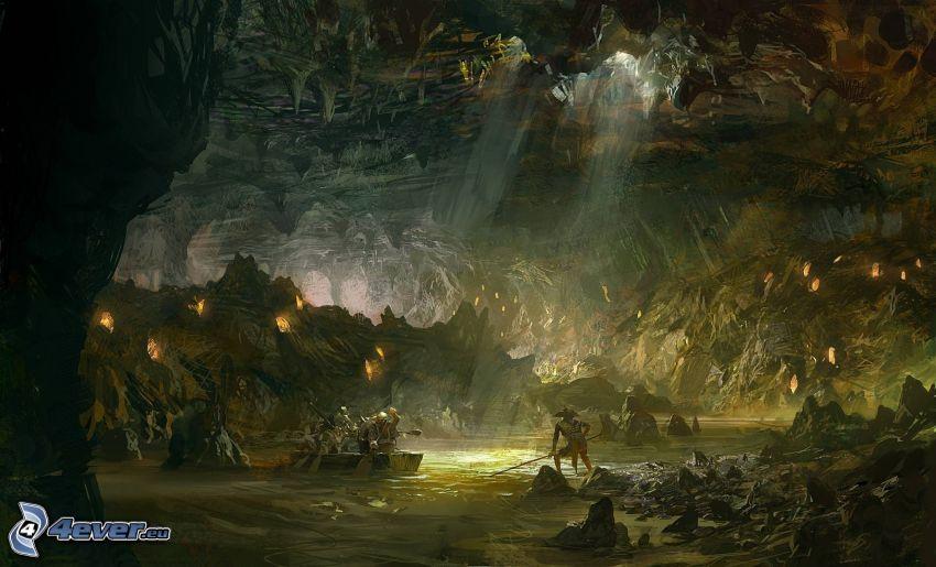Guild Wars 2, subterreno