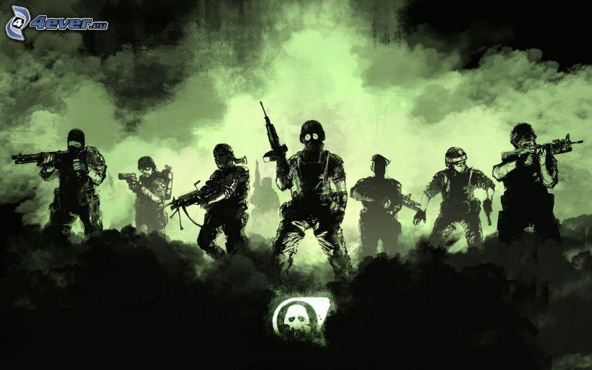 Half-life, Operation: Black Mesa, soldados
