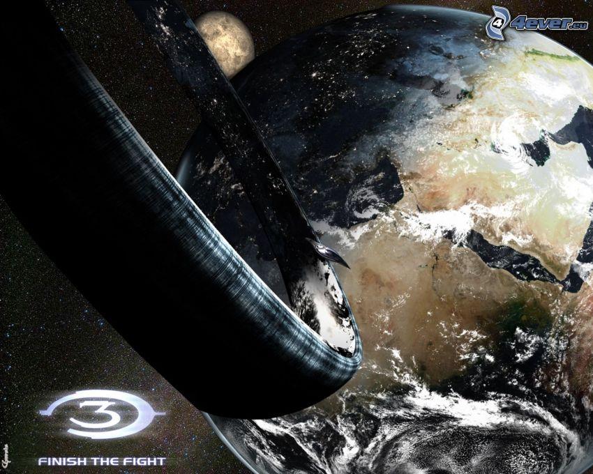 Halo, Planeta Tierra