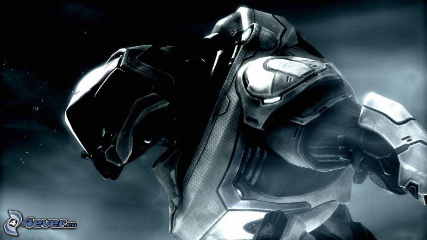 Halo, soldado de ciencia ficción