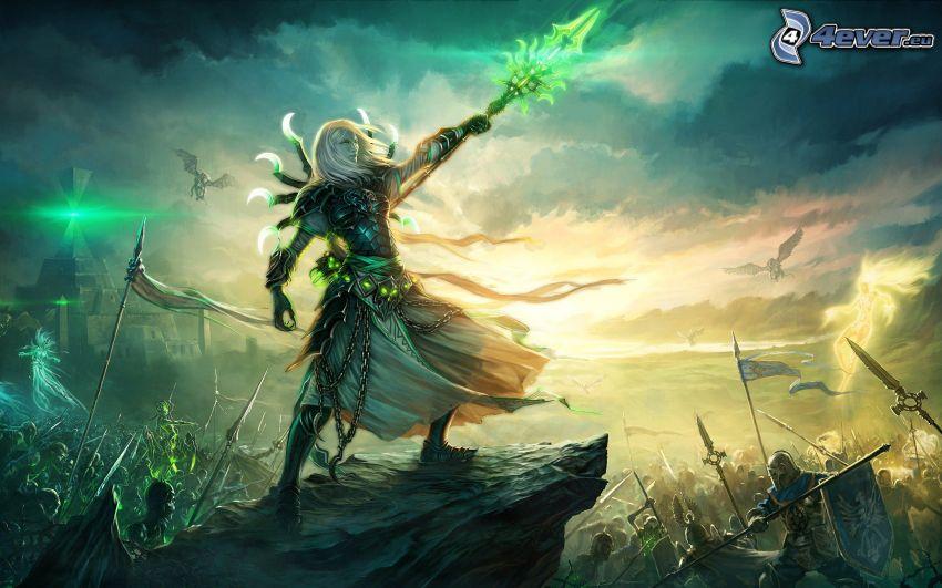 Heroes VI, guerrera
