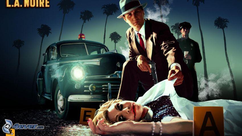 L.A. Noire, detective, asesinato