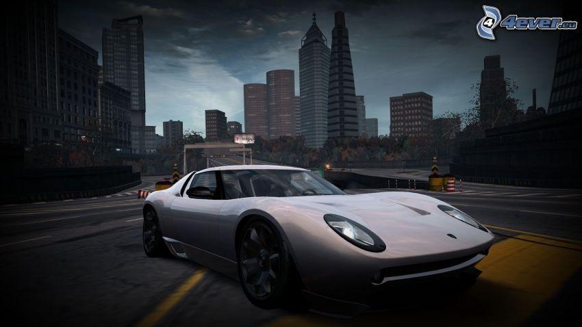 Lamborghini, concepto, rascacielos